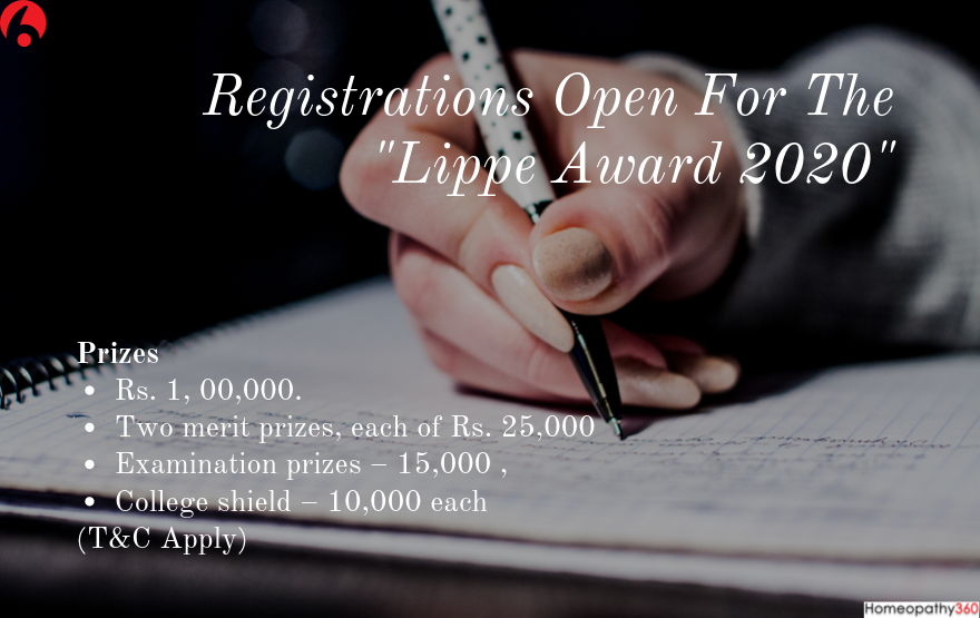 Registrations Open For The _Lippe Award 2020_