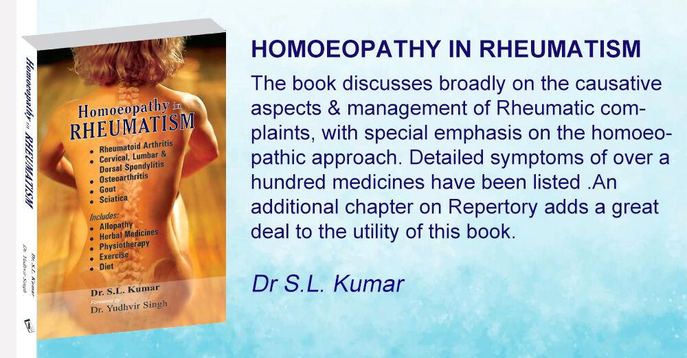 Homoeopathy in Rheumatism
