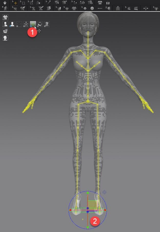 Marvelous Designer How to Move Rotate Avatar