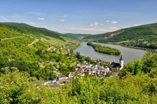 The romantic German wine route