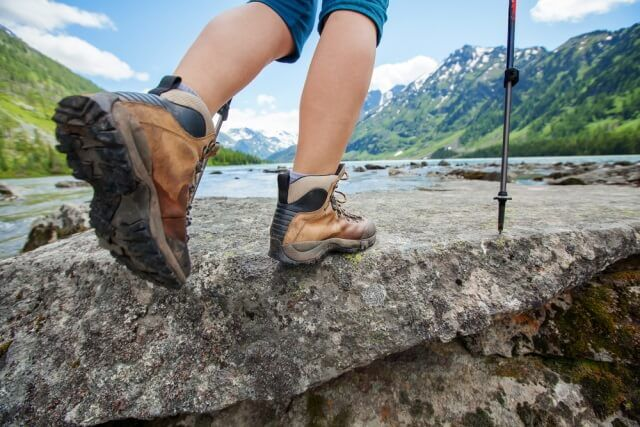How to break in hiking and walking boots