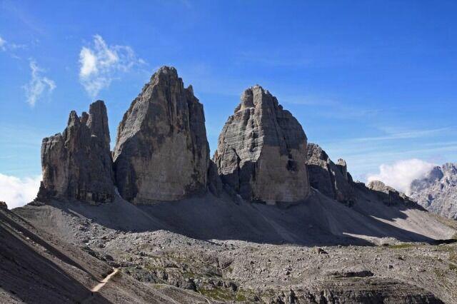 Tre Cime di Lavaredo – one of the Dolomite's best known landmarks