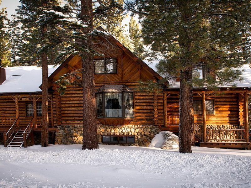 Top Log Cabin Hikes in the UK