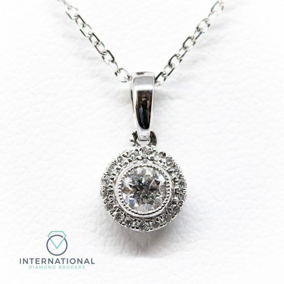 Round Cluster Pendant – A