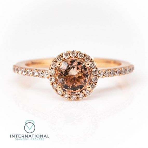 Round Morganite Ring – A