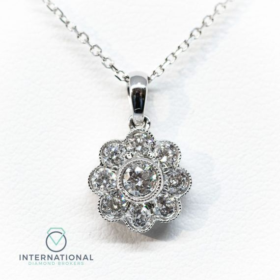 Small Flower Pendant – A