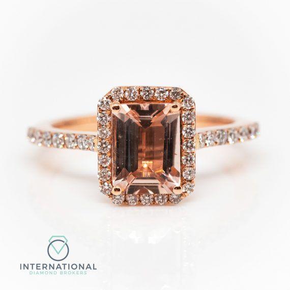 Eme Cut Morganite Ring – A