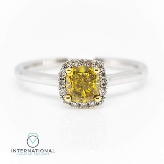 Yellow Diamond Ring – A