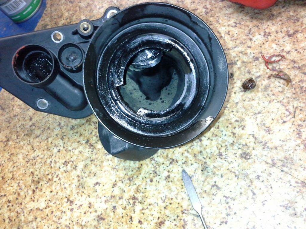 Ремонт клапана вентиляции картерных газов (КВКГ) WV Crafter