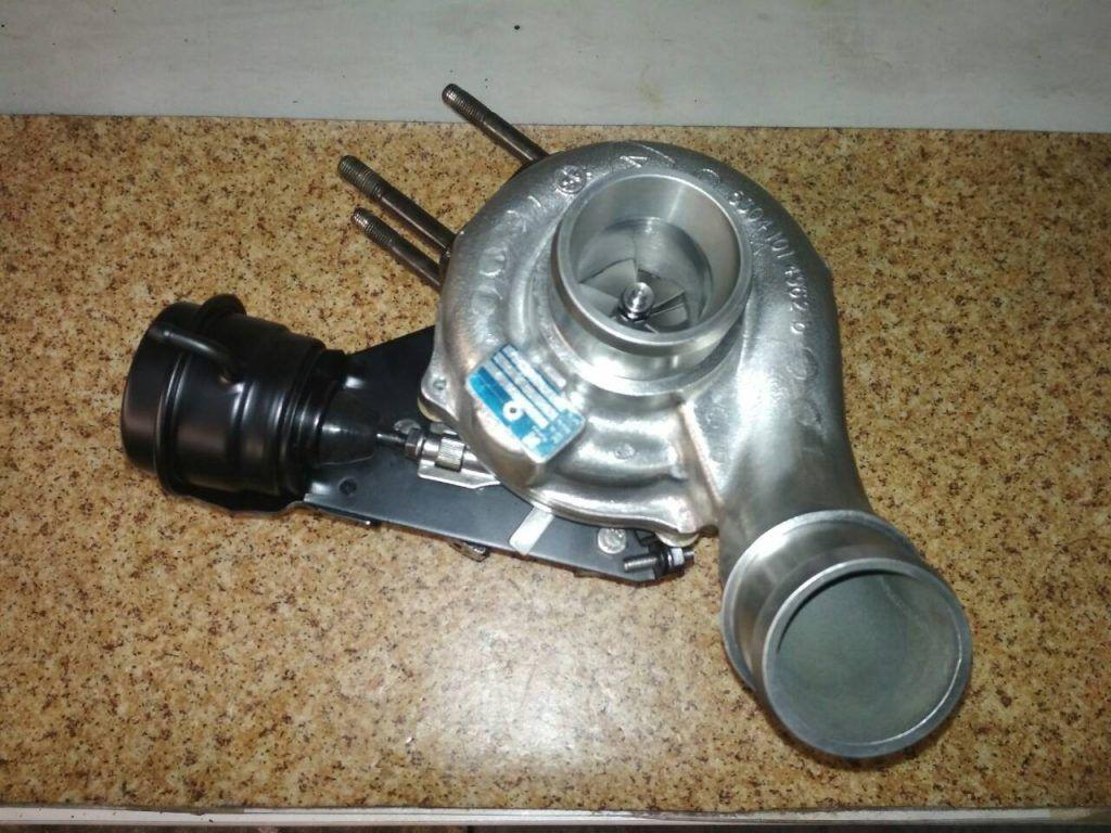 Сборка турбокомпрессора КИА Соренто 2.5 CRDI