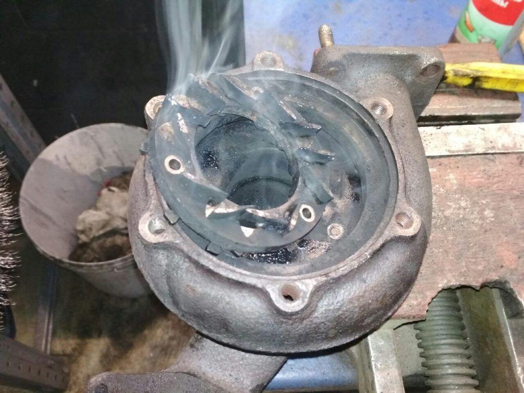 Ремонт турбины Альфа Ромео 156 2.4 JTD 1999 года