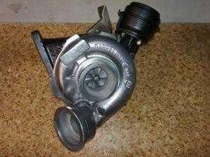 Турбина 2.2 CDI, OM 611 DE 22 LA, 80-95Kw - 109- 129 HP