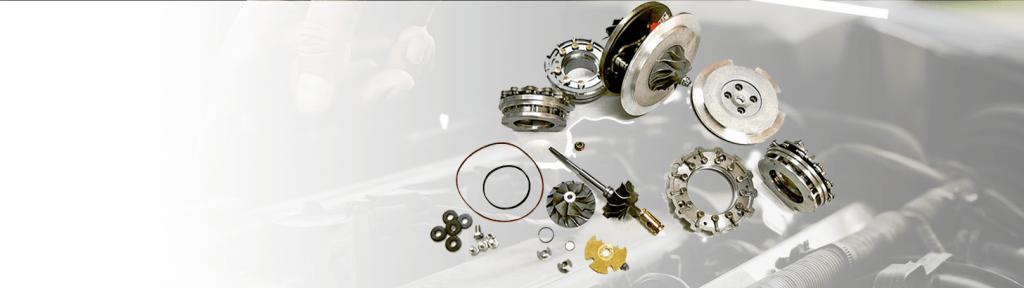 Фирменные детали для ремонта автомобильных турбин