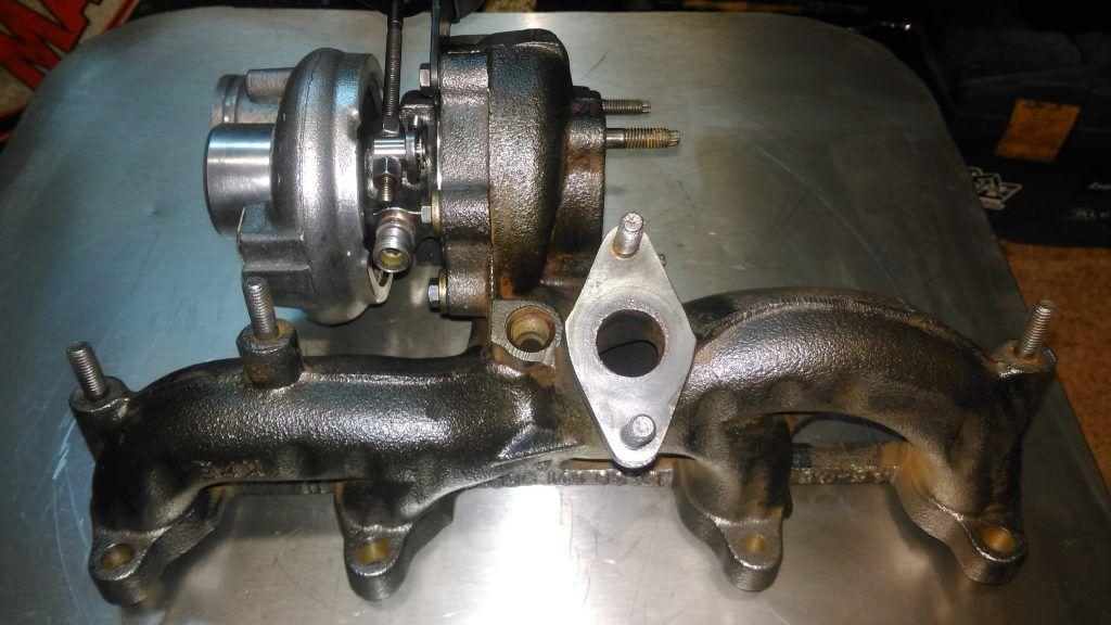 Диагностика и ремонт турбины VW Sharan 2.0, 2007г.в., DRT BVH, 140л.с.