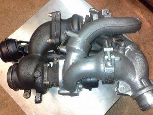 Диагностика и профилактический ремонт турбины (битурбо) для Mercedes-PKW Sprinter II 215CDI/315CDI/415CDI/515CDI, OM 646 DE22LA, 110 Kw - 150 HP, с 2006 года выпуска