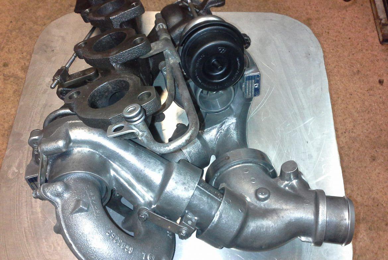 финишная сборка турбины Mercedes-PKW Sprinter II 215CDI/315CDI/415CDI/515CDI, OM 646 DE22LA, 110 Kw - 150 HP, с 2006 года