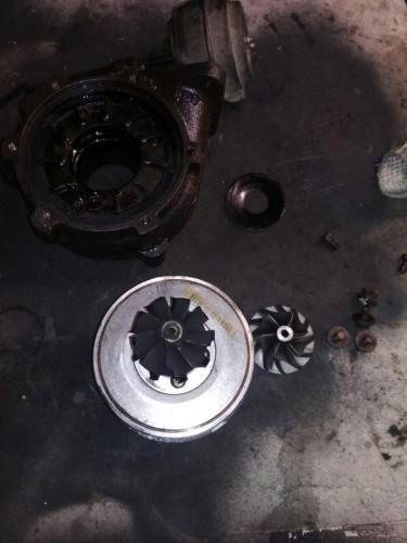 Ремонт турбины Opel vectra 2.2