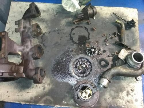 Диагностика и ремонт турбины форд Мондео  1.8.