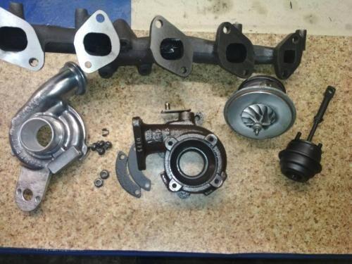 Диагностика и ремонт турбины Opel Zafira 2.0 tdi