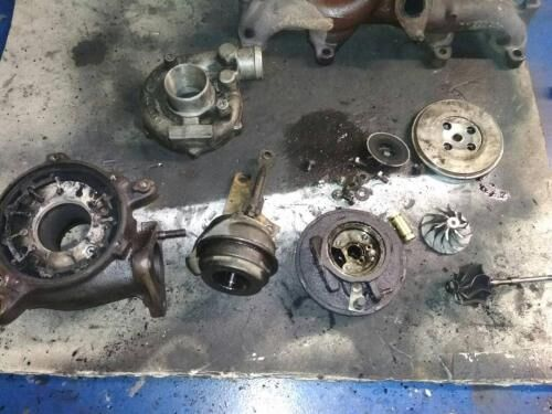 Диагностика и ремонт турбины Audi a6 c5 1.9
