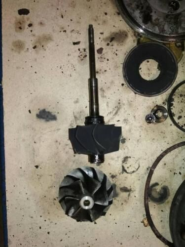 Диагностика и ремонт турбины Пежо 307 2.0 hdi