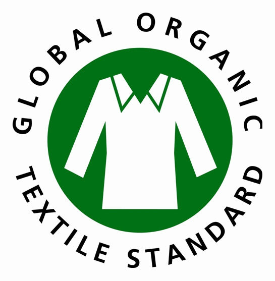 Organic cotton logo from GOTS