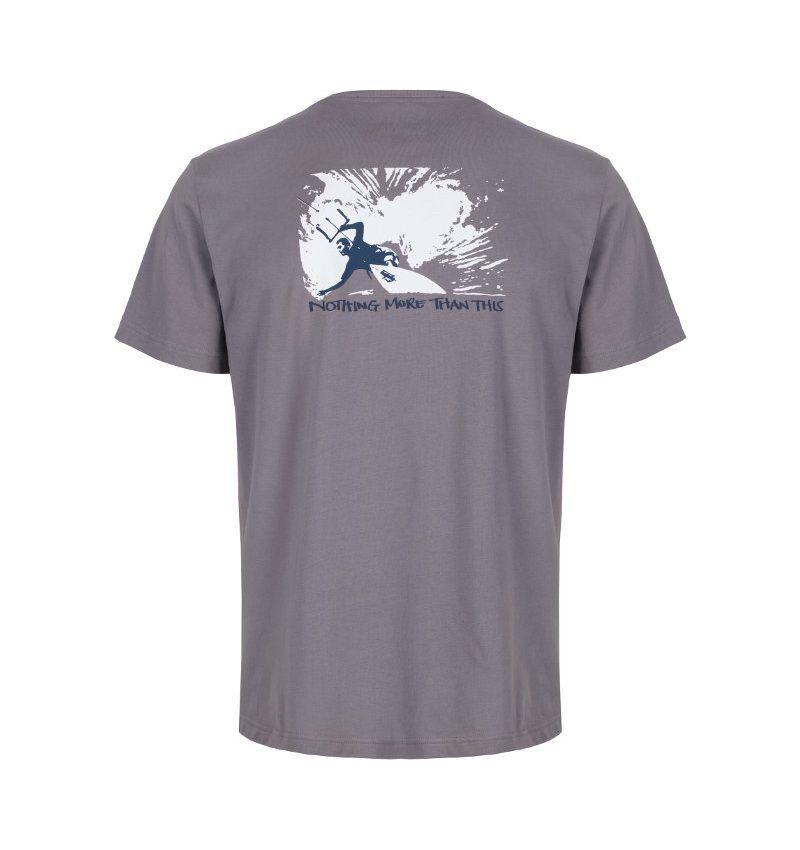Kitesurfing and mindfulness organic cotton t'shirt