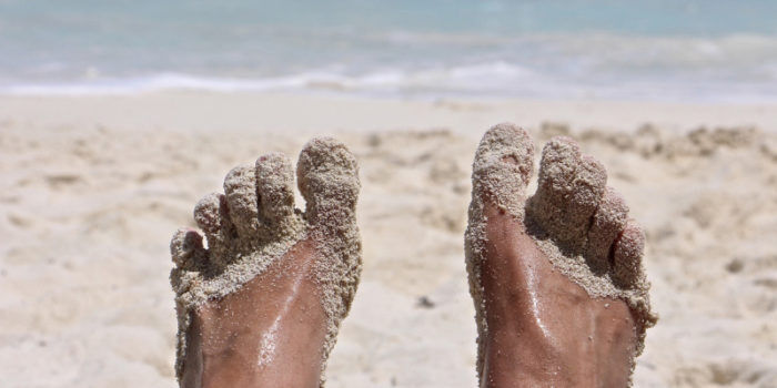 The health benefits of walking barefoot
