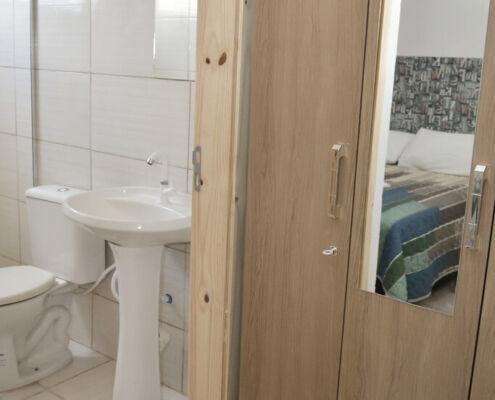 Banheiro Hotel Pousada Dona Margarida